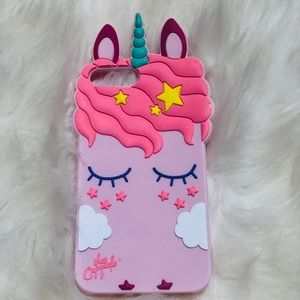 Unicorn iPhone 7/8plus rubber case